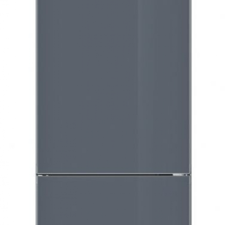 COMBI RESTO BALAY 3KR7897GI. Frigorífico combinado NoFrost, A++, Libre instalación, 2 03x60x66, 366 litros,Puertas Cristal gris,ExtraCold/ExtraFresh Comfort. Electrón ica en la puerta. Tirador vertical integrado.