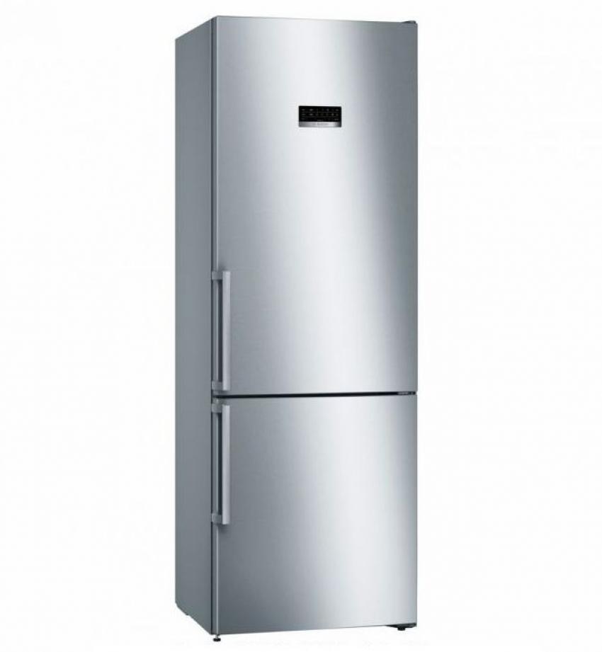 Combi electronico NF Bosch KGN49XI3P, NoFrost, A++, Libre instalacion, 203x70x67cm, 435L., Puertas Acero