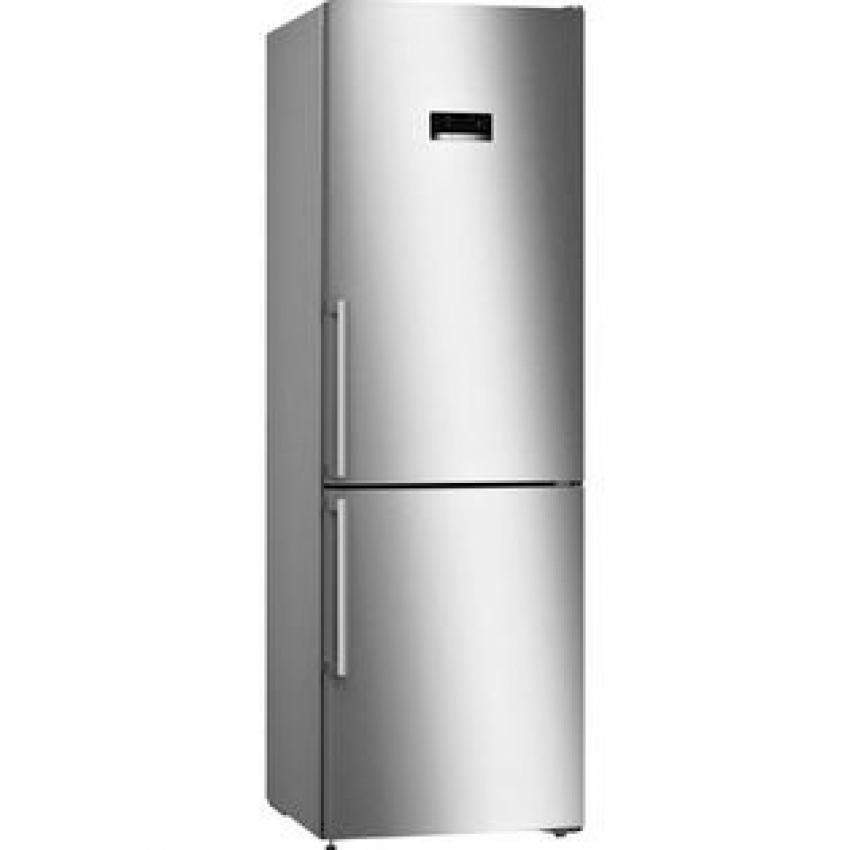 Combi Bosch KGN36XI3P Serie4 . Frigorifico Combi No Frost - A++ Puertas Acero antihuellas - Cajón VitaFresh 0°C - Cajon Vitafresh 186 x 60 x 66 cm (alto x ancho x fondo)