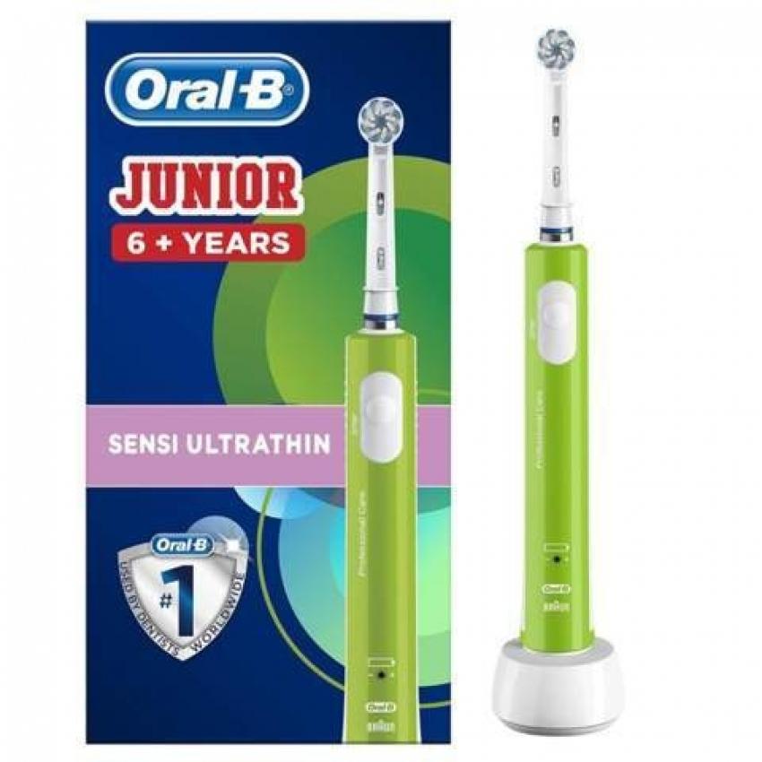 CEPILLO DENT ORAL B D 16 Infantil Junior Verde