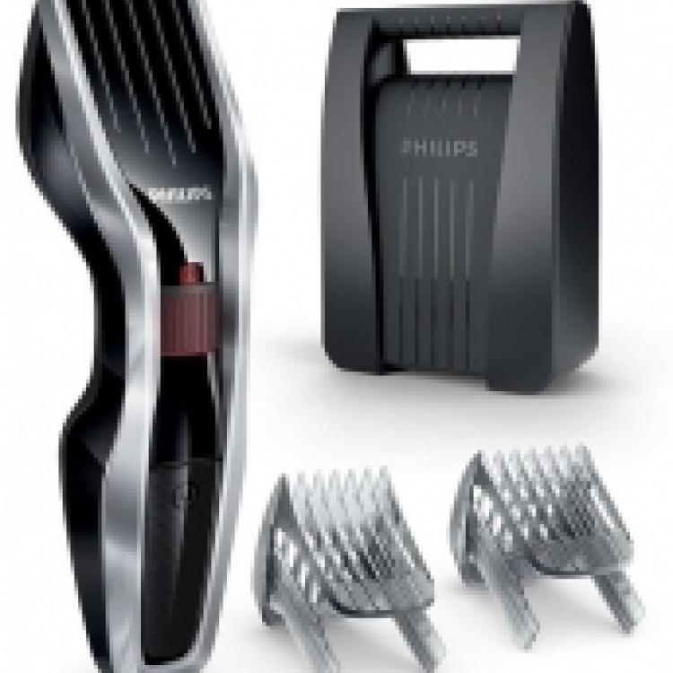 Cortapelo Philips Pae HC544080, recargable, 24 posiciones, a red y lavable, inlcuye peine especial para barba, maletin