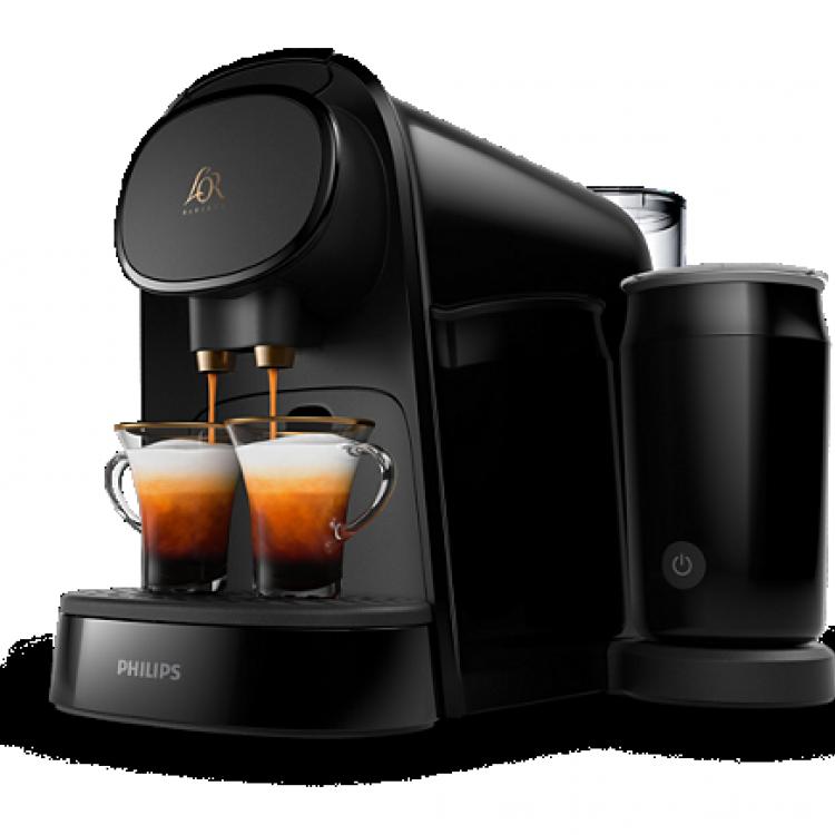 CAFETERA EXP PHILIPS LM8014/60. L'OR Barista,Cafetera Espresso Cápsulas con espumador de leche