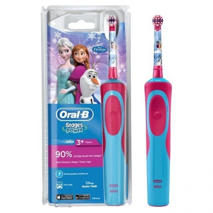 CEPILLO DENT ORAL B OB Cep. Rec.Vitalit Kids Frozen Plus Box