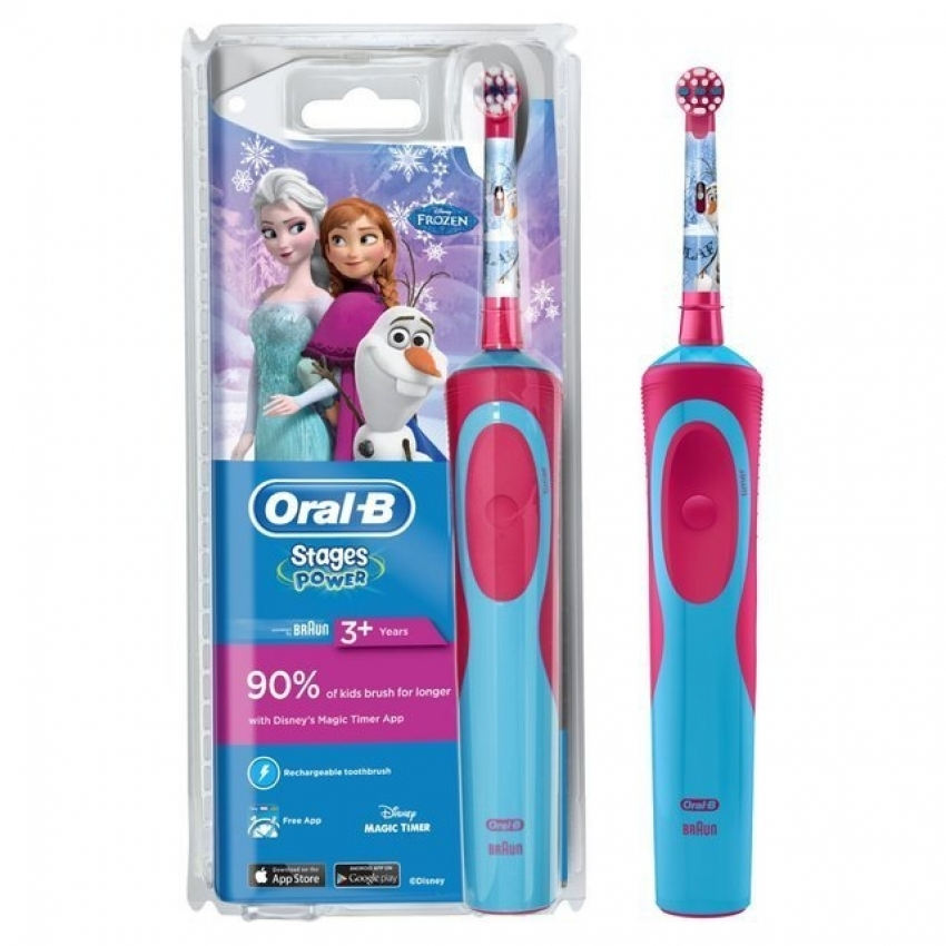 CEPILLO DENT ORAL B OB Cep. Rec.Vitalit Kids Frozen Plus Box