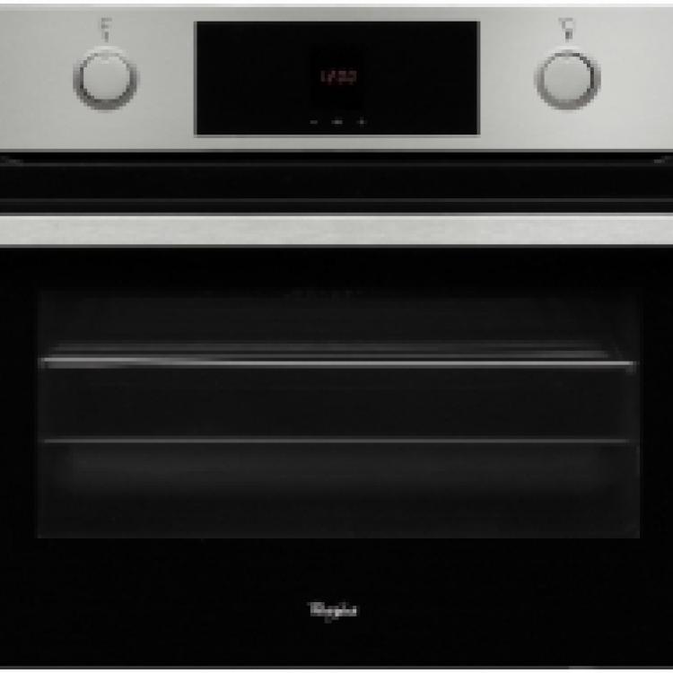 Horno indep. Compacto Whirlpool AKP809IX , inox, 45cm, Mandos PP, 16 funciones