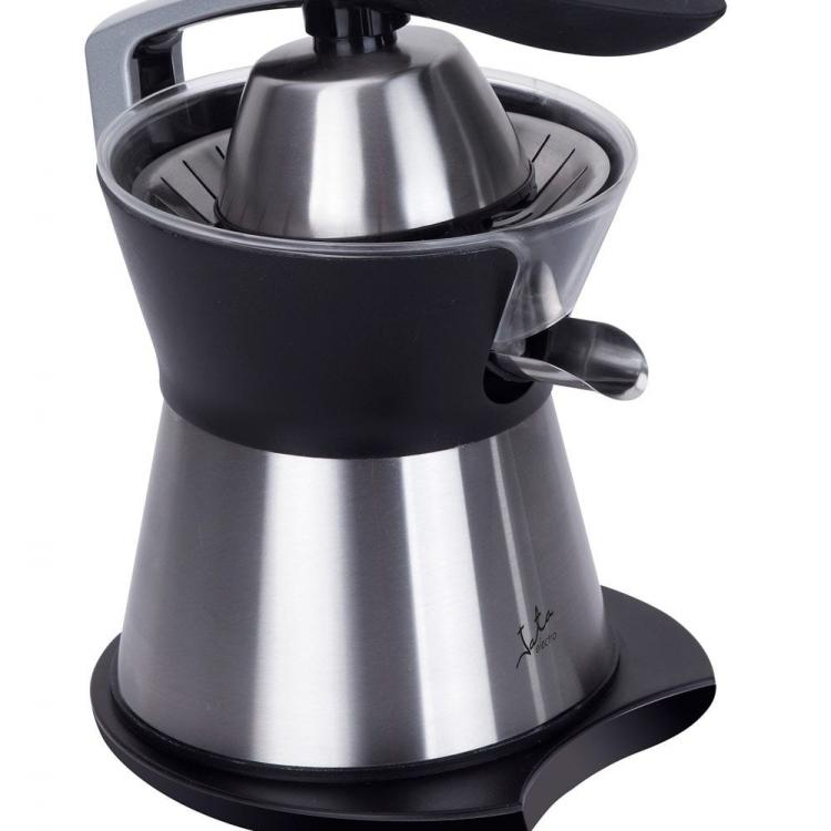 EXPRIMIDOR JATA EX611 , acero inox, 160w, con brazo para facilitar la extraccion del zumo, motor profesional AC, dos conos para conseguir maxima eficiencia, extraccion continua, sistema antigoteo, dos conos: grande y pequeño, desmontable para facil l