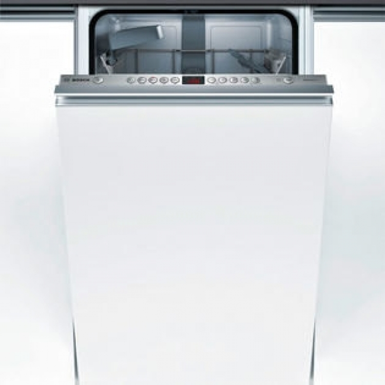 Lavavajillas Bosch SPV45IX05E Serie4 . Lavavajillas integrable - Puerta fija Motor EcoSilence - Ancho: 45 cm InfoLight - Clase energetica A++