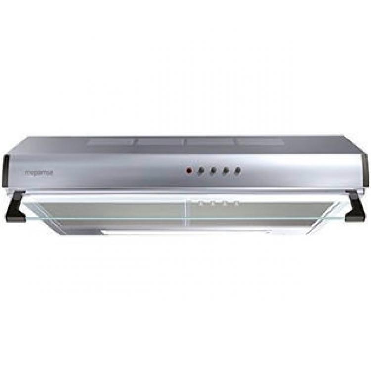 Campana Mepamsa Modena 90 Inox.Campana Convencional  Ancho: 90 cm - Acero INOX  Aspiración máxima: 400 m³/h - Potencia sonora mínima: 56 dB(A)