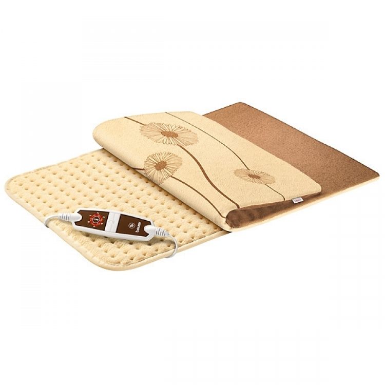 ALMOHADILLA BEURER HK-125XXL GRIS MARENGO. ECO SUAVE FIBRAS CON FUNDA 60x40cm