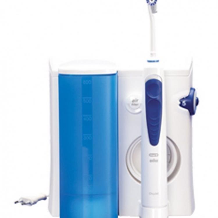 CEPILLO DENT ORAL B MD20 IRRIGADOR  PROFESIONAL ORAL-B PROFESIONALCARE OXYJET,850045, Hidropulsor, Tecnologia de icroburbujas para combatir las bacterias de la placa. 2 modalidades: Irrigacion rotativa para masajear suavemente las encias o para limp