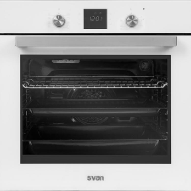 HORNO 10 FUNCIONES DIGITAL TOUCH CRISTAL BLANCO