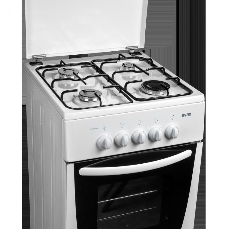 COCINA BLANCA 55 X50 CM. C/GRILL T/M